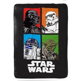 """Star Wars Classic 62"""" x 90"""" Twin Blanket"""