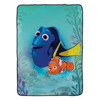 "Disney/Pixar Finding Dory Stingray Friends Plush Twin Blanket, 62"" x 90"""
