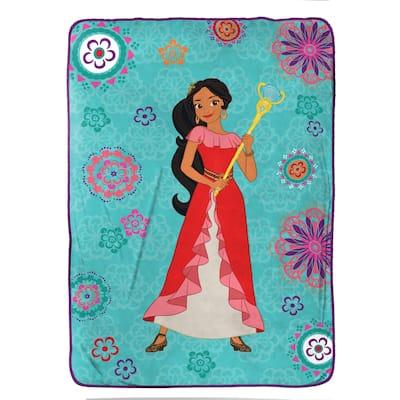 "Disney Elena of Avalor Magic of Avalor Twin 62"" x 90"" Blanket"