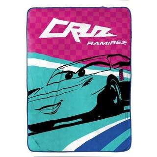 "Disney/Pixar Cars 3 Movie Cruz Plush 62"" x 90"" Twin Blanket"