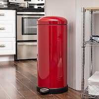 Retro Kitchen 30L Soft-Close Red