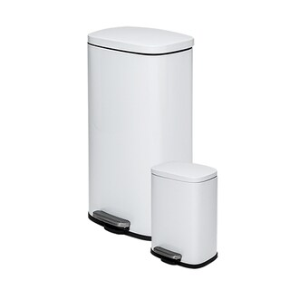 30L & 5L Rectangular Trash Can Combo
