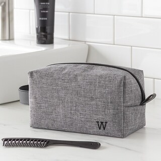 Link to Personalized Grey Dopp Kit Similar Items in Travel Accessories