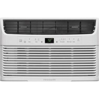 Frigidaire 6,000 BTU 115V Window-Mounted Mini-Compact Air Conditioner with Full-Function Remote Control, White