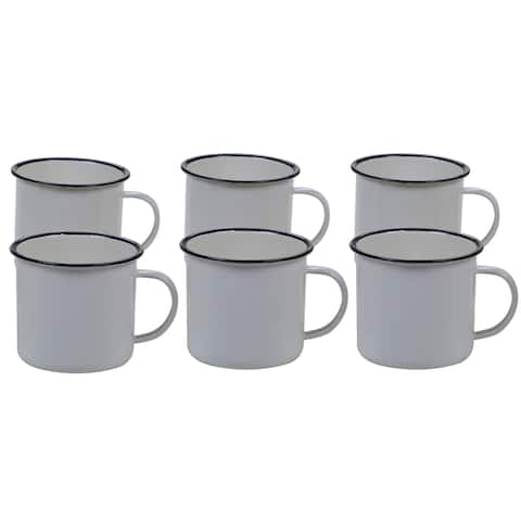 Certified International Enamelware 26 oz. Mug (Set of 6)