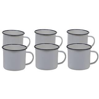 Certified International Enamelware 26 oz. Mug (Set of 6)
