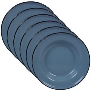Link to Certified International Enamelware Salad/ Dessert Plate (Set of 6) Similar Items in Dinnerware