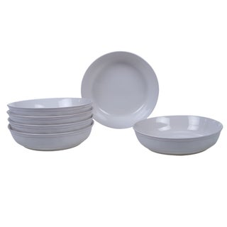 Certified International Orbit 8.5-inch Soup/ Cereal Bowl (Set of 6) (Option: Off-White)