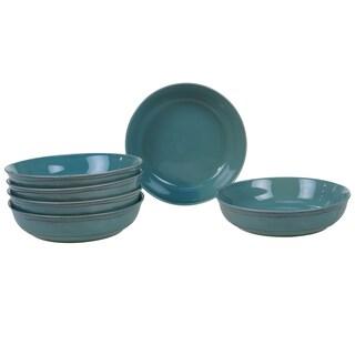 Certified International Orbit 8.5-inch Soup/ Cereal Bowl (Set of 6) (Option: Teal)