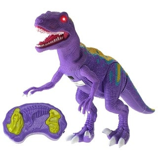 Walking Series Dinosaur World Raptor RC Toy Velociraptor Figure