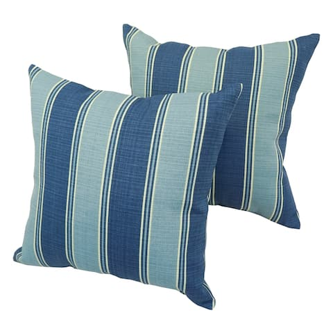 Bahama Contemporary 17-inch Indoor/Outdoor Throw Pillow (Set of 2)