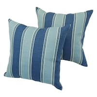 Bahama Contemporary 17-inch Indoor/Outdoor Throw Pillow (Set of 4)