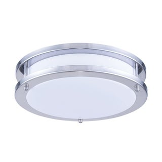 Link to Ivy Court LED Surface Mount White & Nickel Finish Acrylic Lens 1050LM Similar Items in Flush Mount Lights