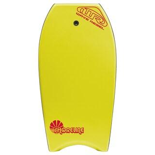 Shoreline 42 Inch Body Board (Option: Yellow)