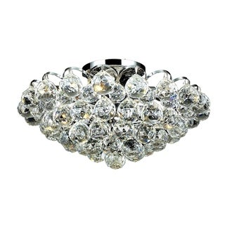 Ivy Court 4-Light 14 Inch Flush Mount