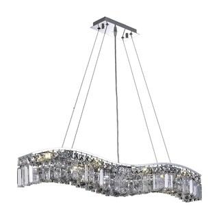 Ivy Court 8-Light 36 Inch Chrome Chandelier
