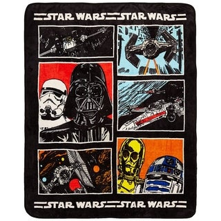 "Star Wars Classic 46"" x 60"" Throw"