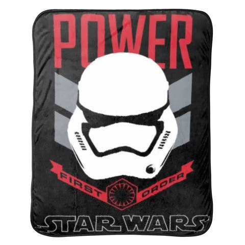 Star Wars Ep7 Rule Galaxy Fleece Throw