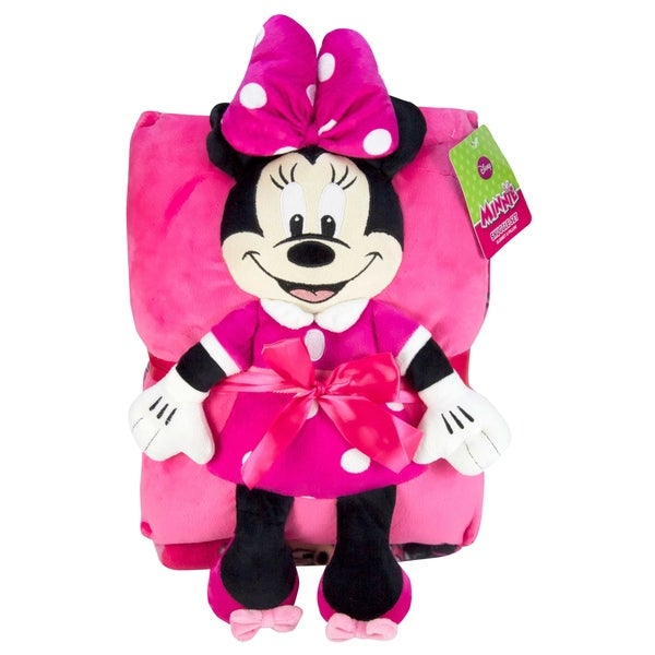 3f1ecba8cb3 Shop Minnie Bowtique Travel Snuggle Set - Free Shipping On Orders Over  45  - Overstock.com - 20684827
