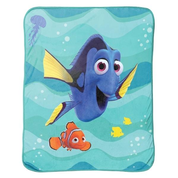 Shop DisneyPixar Finding Dory Stingray Friends Plush Throw Free Best Disney Finding Nemo Fleece Throw Blanket