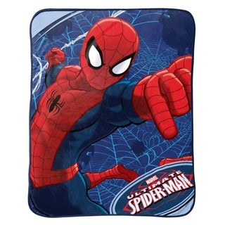 Marvel Spiderman Plush Throw, Astonish