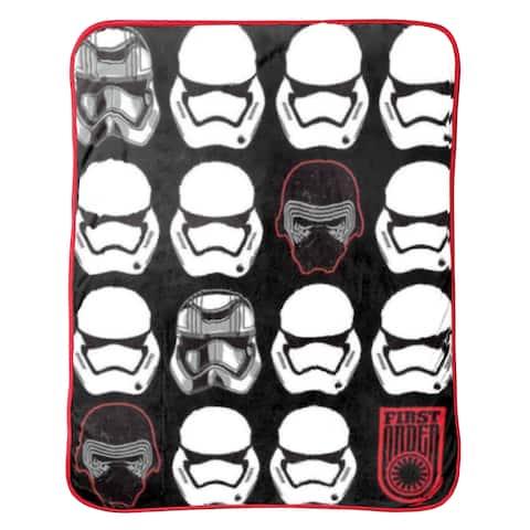 Star Wars Ep7 First Order Helmets Throw