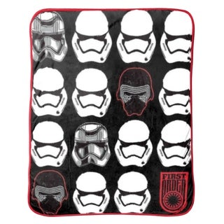 Star Wars Ep7 First Order Helmets Throw