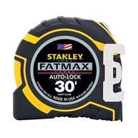 Stanley FatMax  Auto Lock Tape Measure  1-1/4 in. W x 30 ft. L