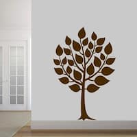 Round Tree Wall Decal