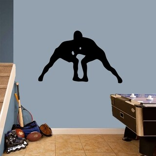Wrestlers Wall Decal (More options available)