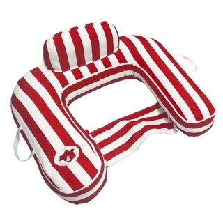 Drift and Escape Drifter U-Seat - Red Luxury Fabric Float - Morgan Dwyer Signature Series