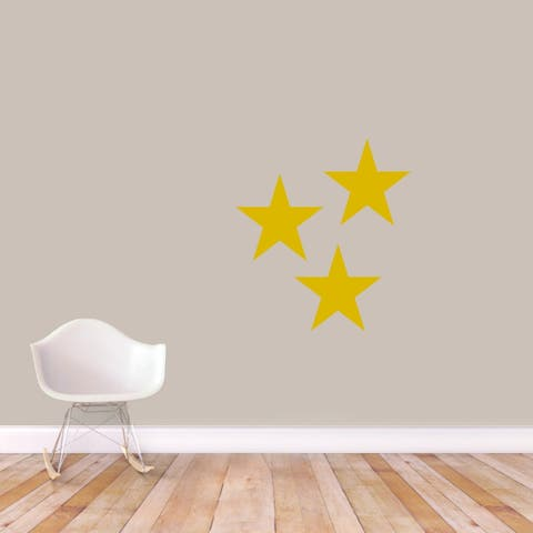 Set Of Stars Wall Decals