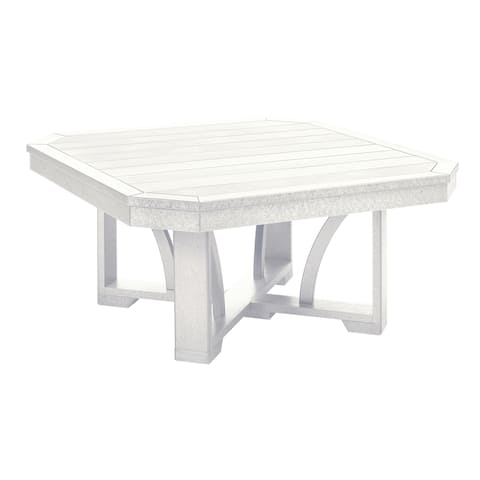 "C.R. Plastics St. Tropez 35"" Square Cocktail Table"