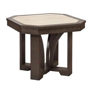 "C.R. Plastics St. Tropez 25"" Square End Table"