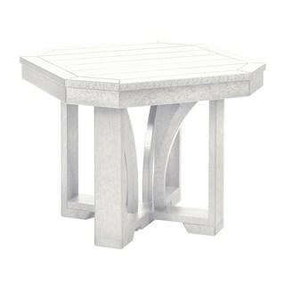 """C.R. Plastics St. Tropez 25"""" Square End Table"""
