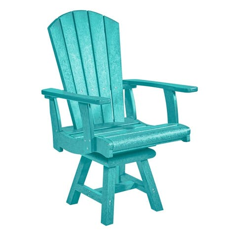 Buy Blue, Recycled Plastic Patio Dining Chairs Online at