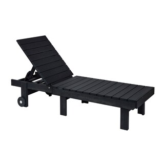 C.R. Plastic Products Generation Chaise Lounge w/ Wheels (More options available)