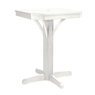 "C.R. Plastics St. Tropez 28"" Square Counter Table"
