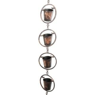 TAG Rustic Bucket Rain Chain - N/A