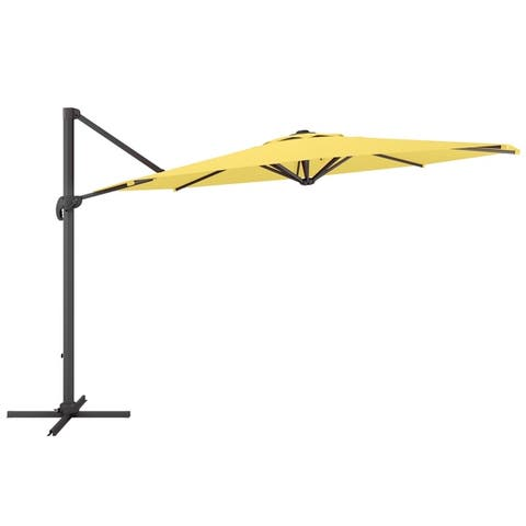 North Bend Deluxe Offset Patio Umbrella by Havenside Home