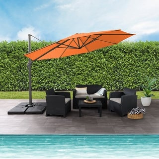 CorLiving Deluxe Offset Patio Umbrella (5 options available)
