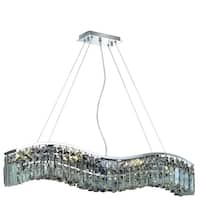 Ivy Court 6-Light 30 Inch Chrome Chandelier