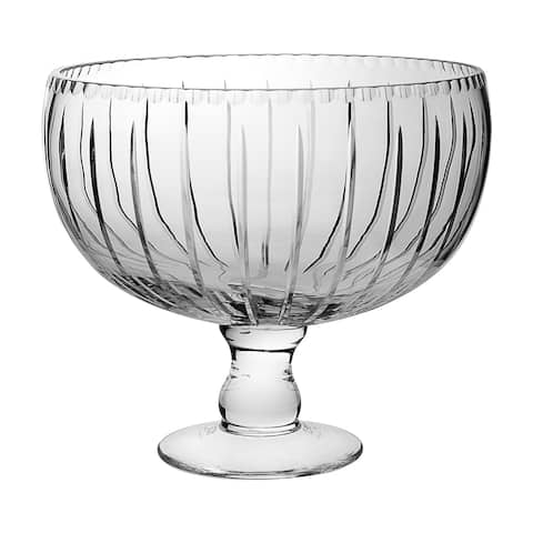 "Majestic Gifts Hand Cut Crystal Punch Bowl, 12""D, 270 oz."