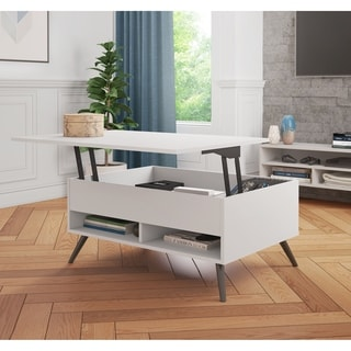 Lift Top Modern Contemporary Coffee Console Sofa End Tables