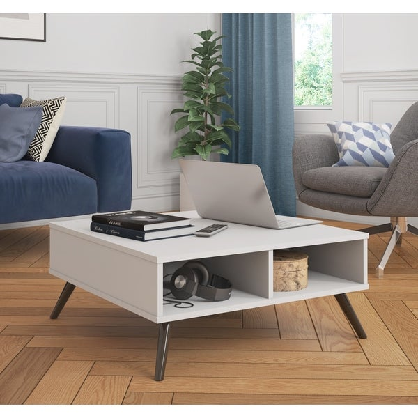 Bestar Small Space Krom 29.5-inch Storage Coffee Table