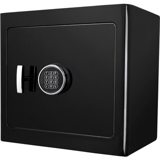 Black Keypad Jewelry Safe Light Interior