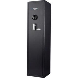 Barska HQ900 Large Quick Access Keypad Biometric Rifle Safe