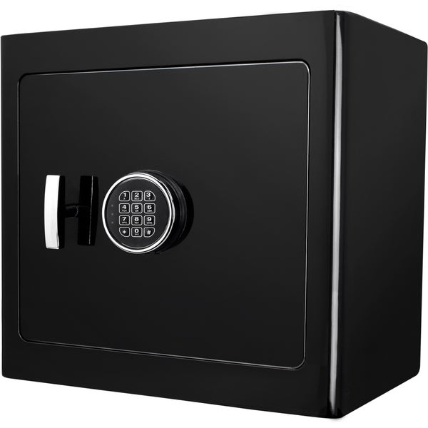 Barska Black Keypad Jewelry Safe Black Interior