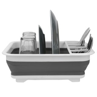 Sweet Home Collection Collapsible Dish Rack
