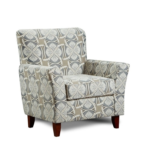 Shop Sofatrendz Brinkley Printed Accent Chair Free Shipping Today